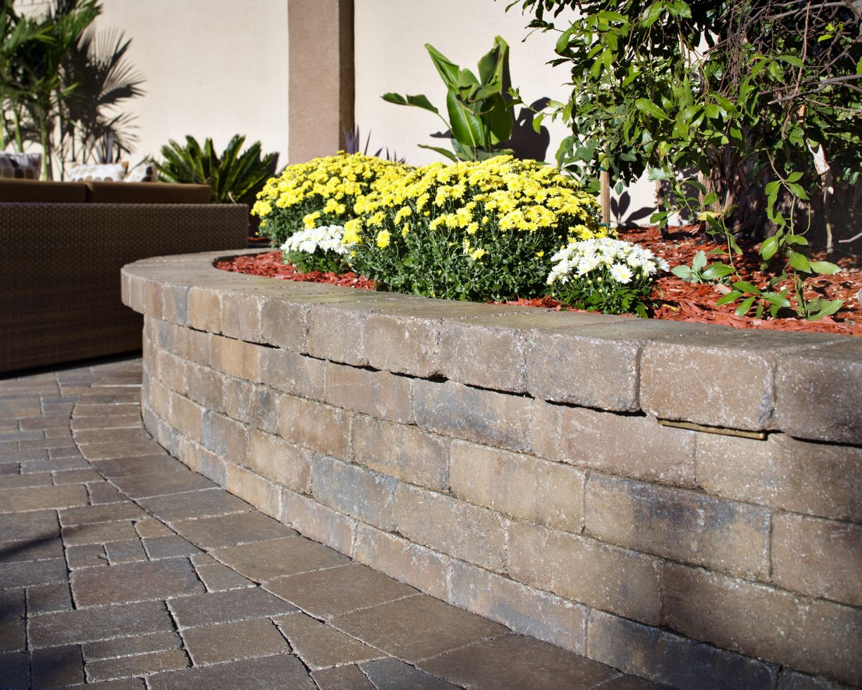 How to save water and add color with island flower beds for Landscaping garden beds