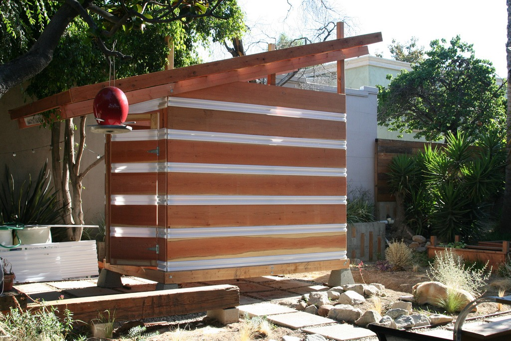 Modern sheds add extra living space storage install it for Modern garden shed designs