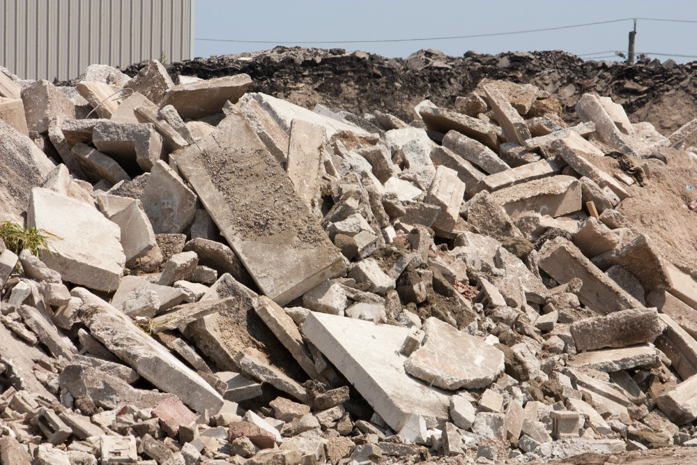 how concrete is recycled