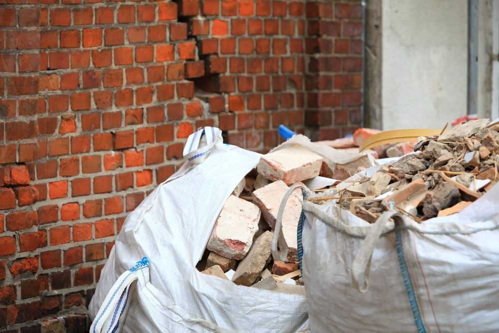how to recycle brick