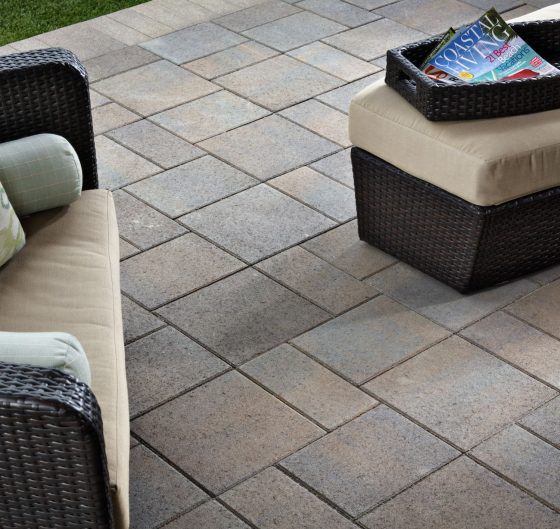 Save water with hardscapes.