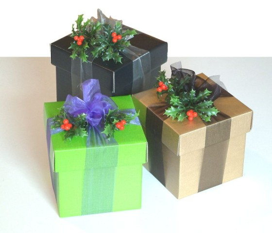 Christmas Party Favor Gift Boxes