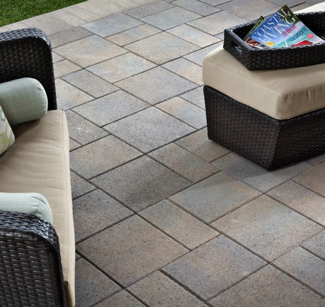 Paving Stone Outdoor Living Areas