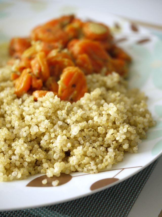 Carrots and Quinoa