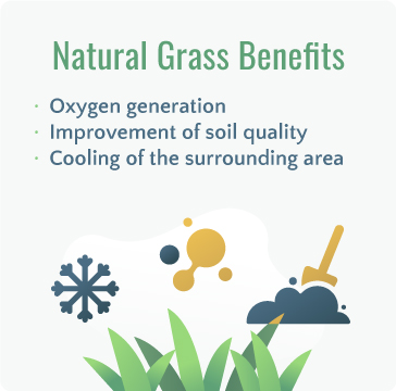 Natural Grass Benefits
