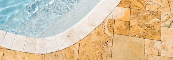 Travertine Pool Deck (Belgard)