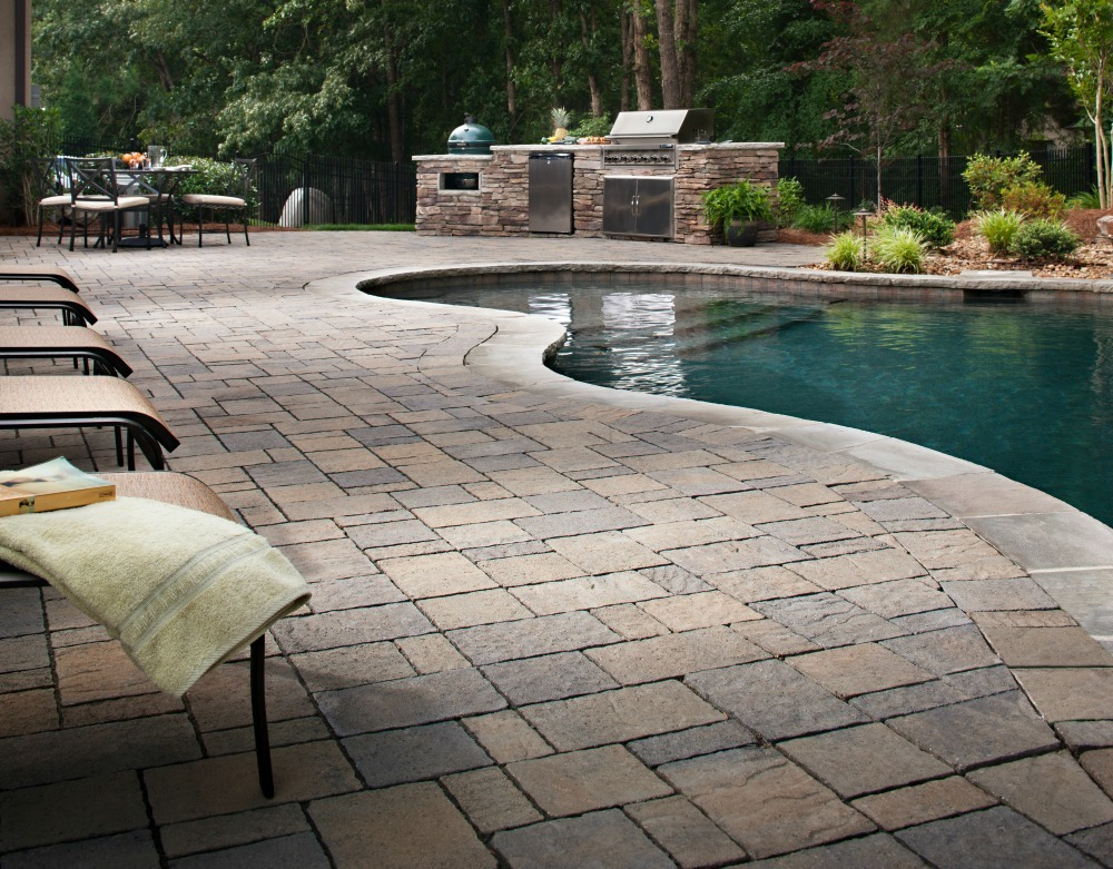 What are permeable pavers install it direct for Belgard urbana pavers