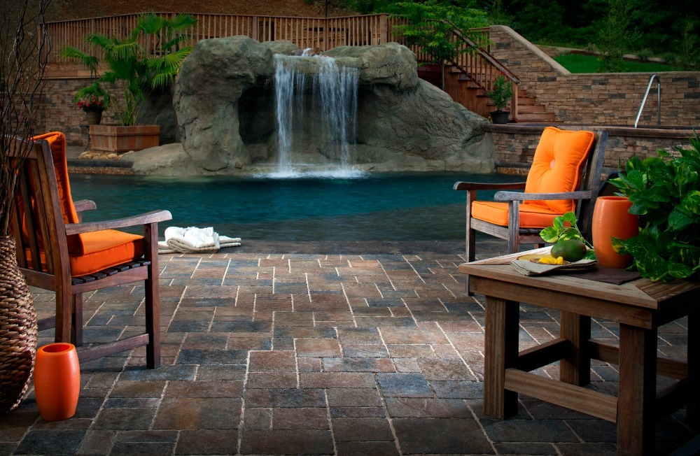 Resort style water feature ideas