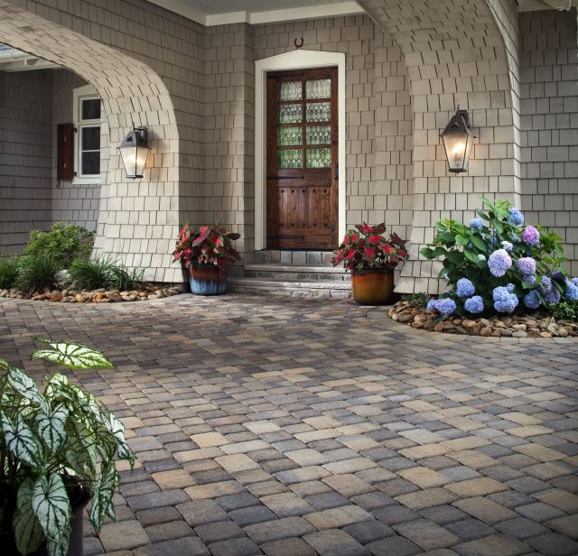 Paving Stone Entry
