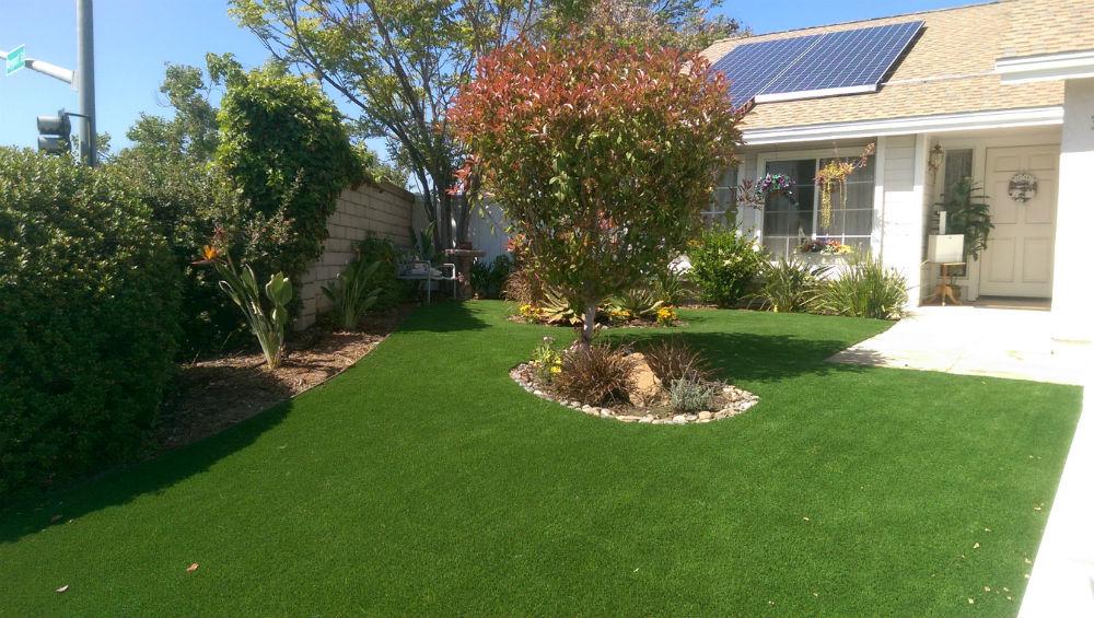 real artificial grass