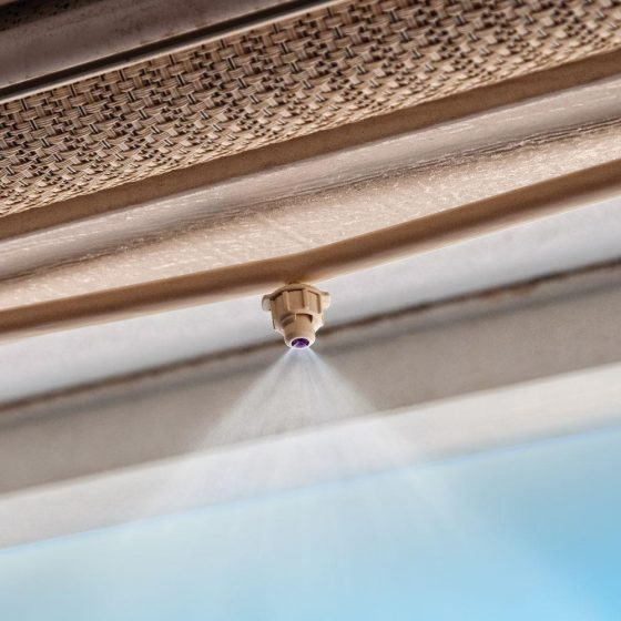 Mister Systems Home Depot : How to keep your guests cool on hot summer days install