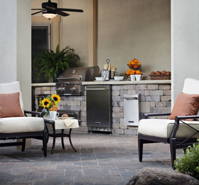 Seat Guests Away from Your Outdoor Kitchen