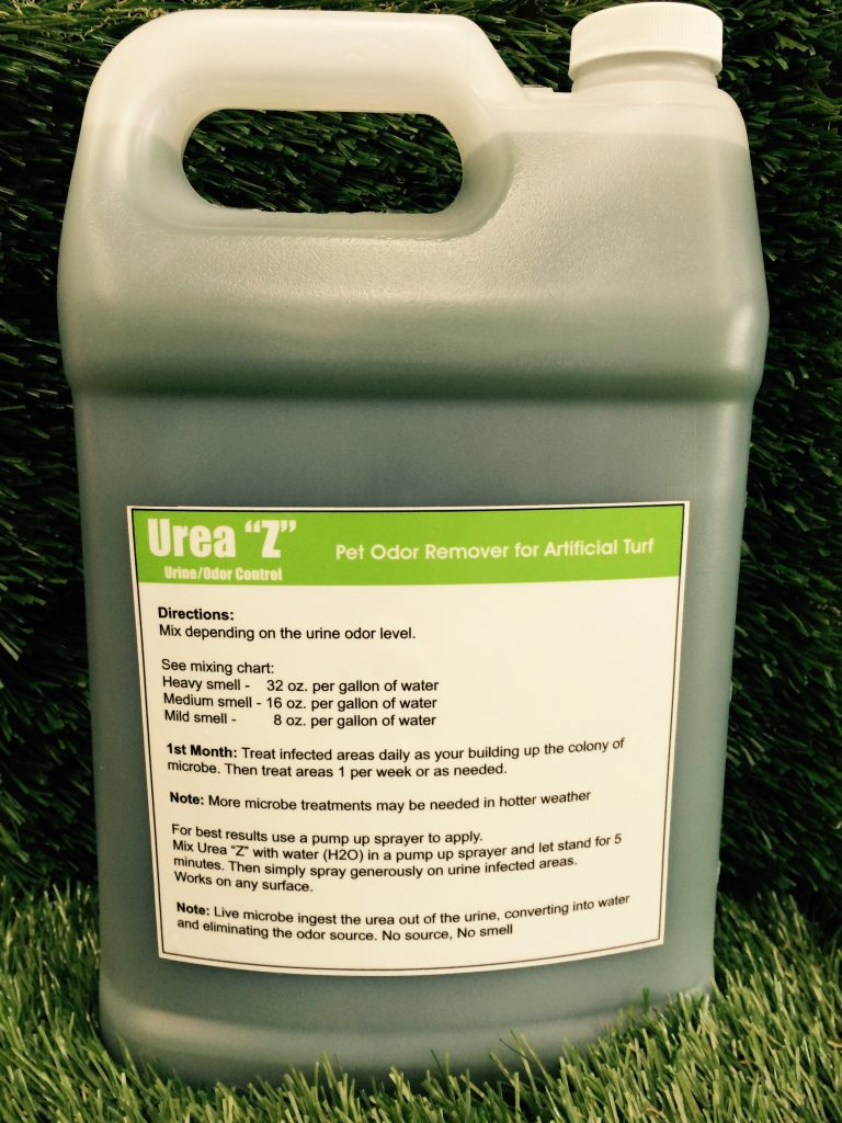 How To Remove Pet Odor Urine Smell on Artificial Grass Turf Urea Z