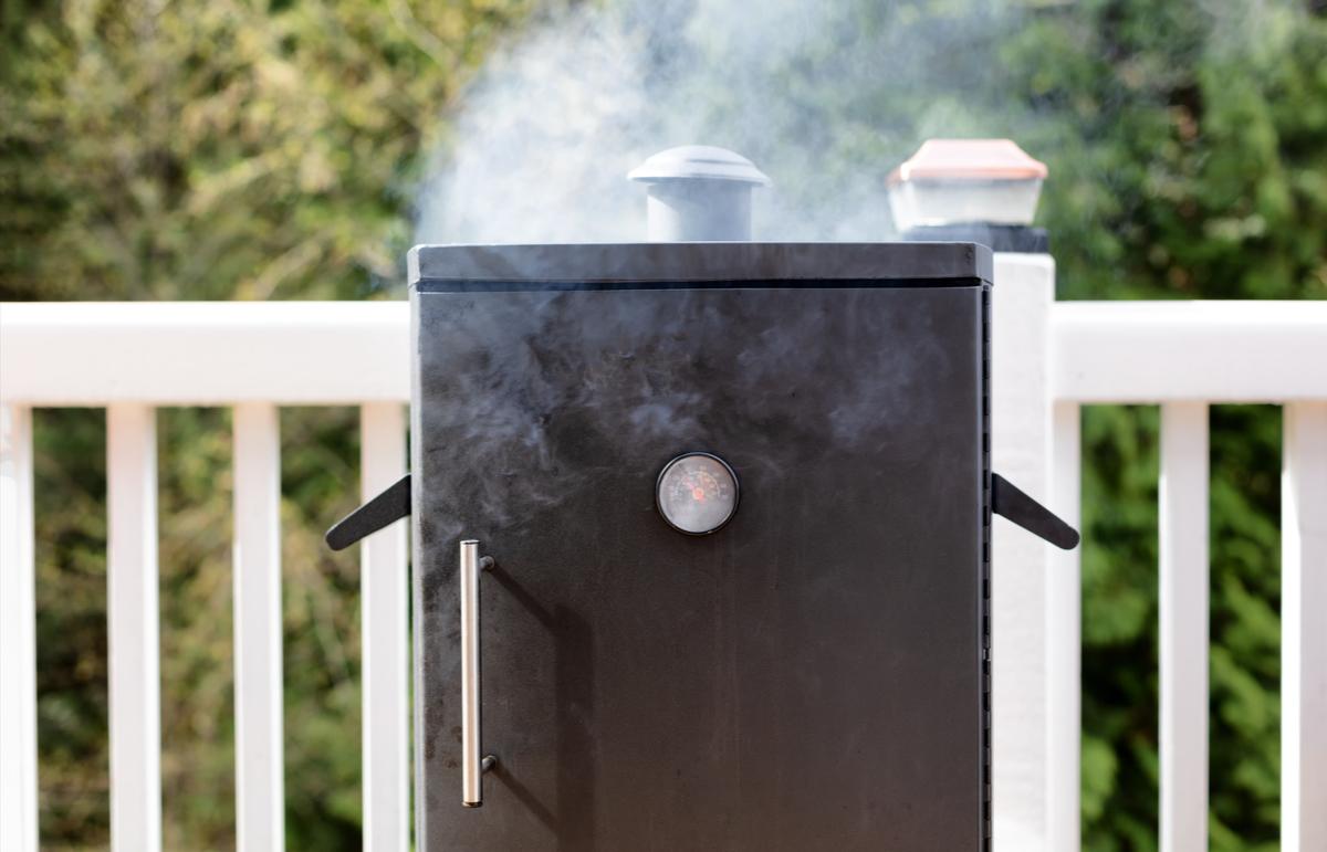 Outdoor Kitchen Design Ideas Smoker