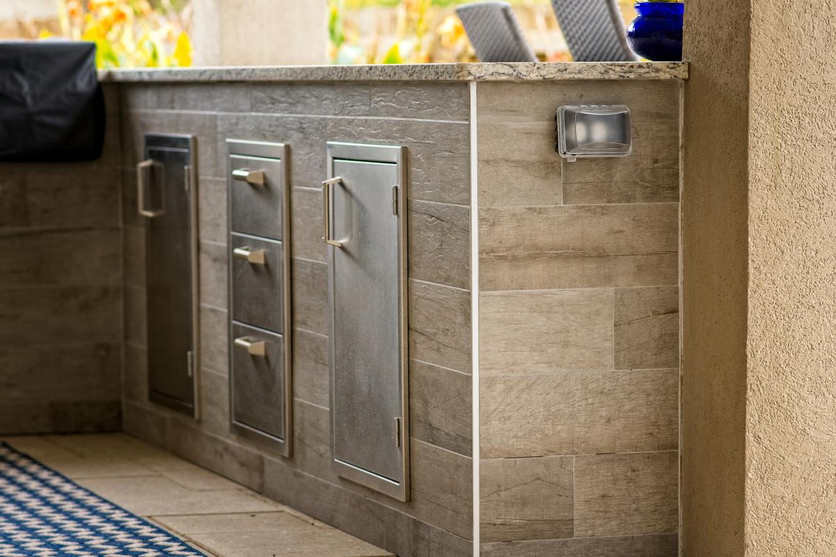 Outdoor Kitchen Design Ideas Storage