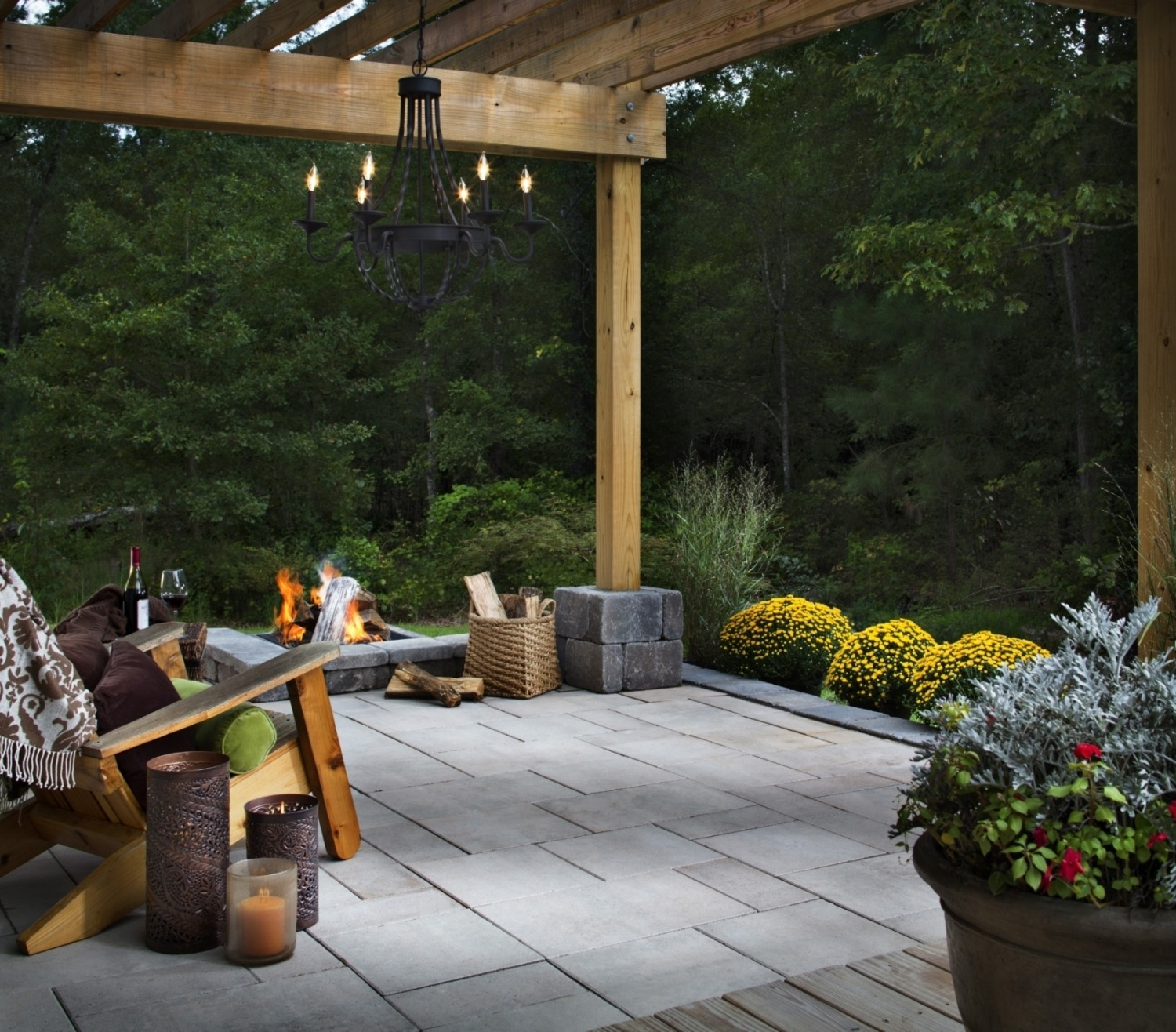Get Creative with Recycled Patio Decorations