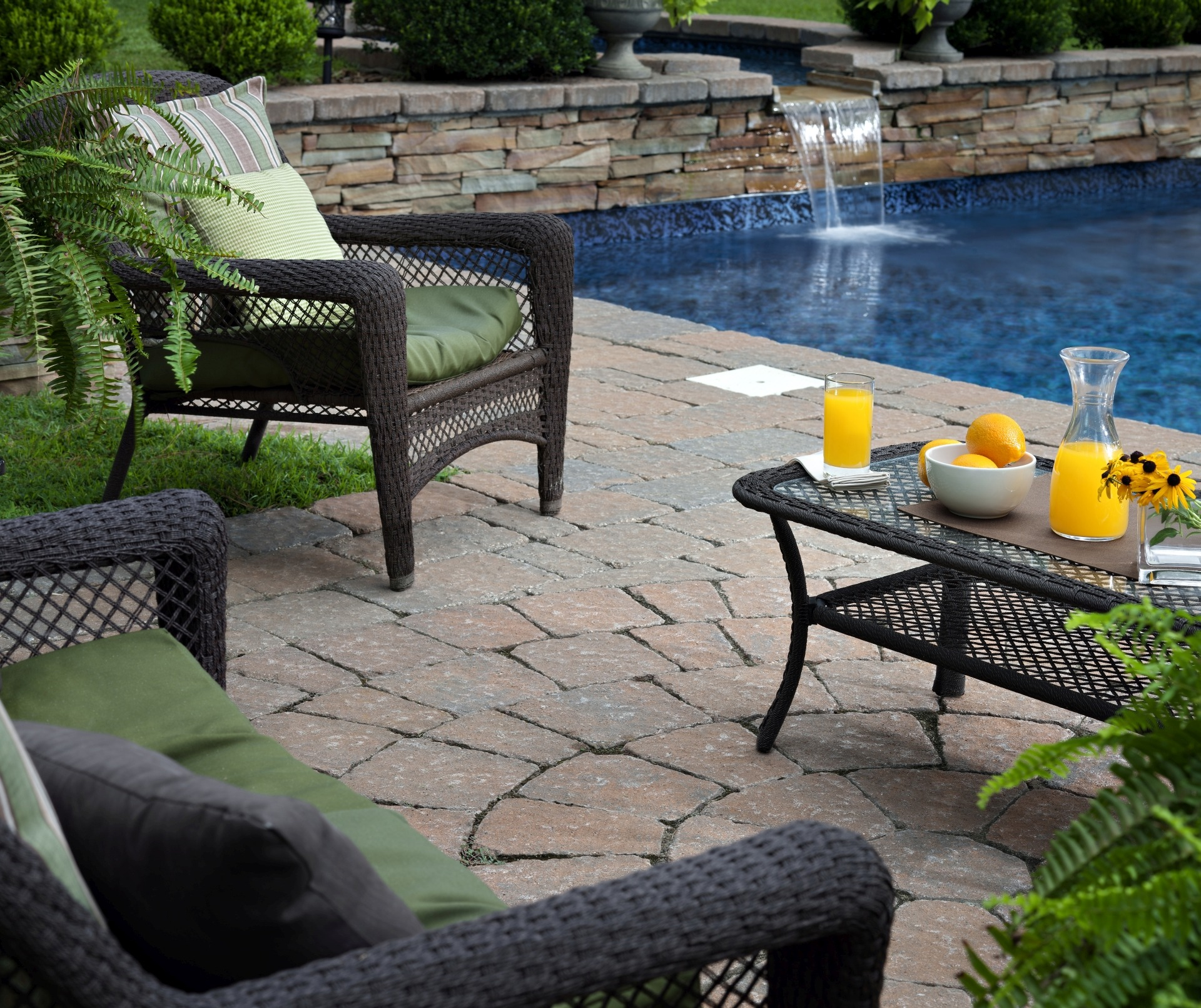 Patio pavers accessories the top 7 patio must haves for Garden pool accessories