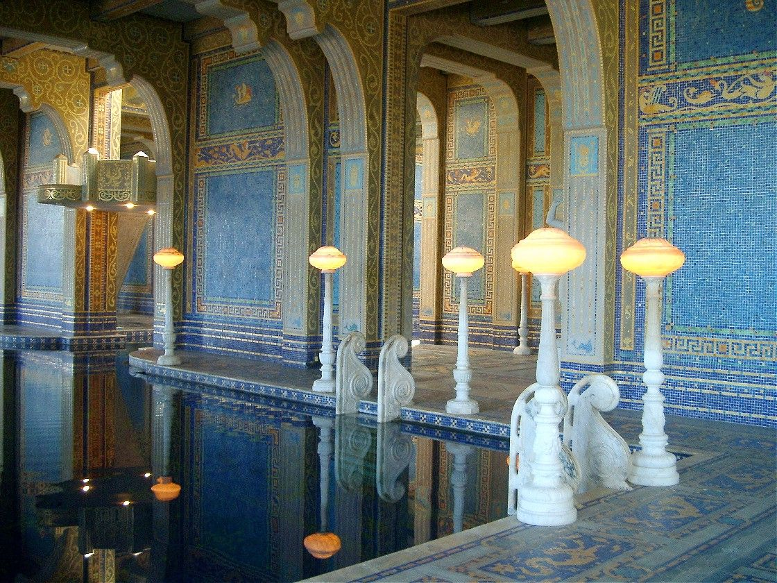 Roman Bath at Hearst Castle