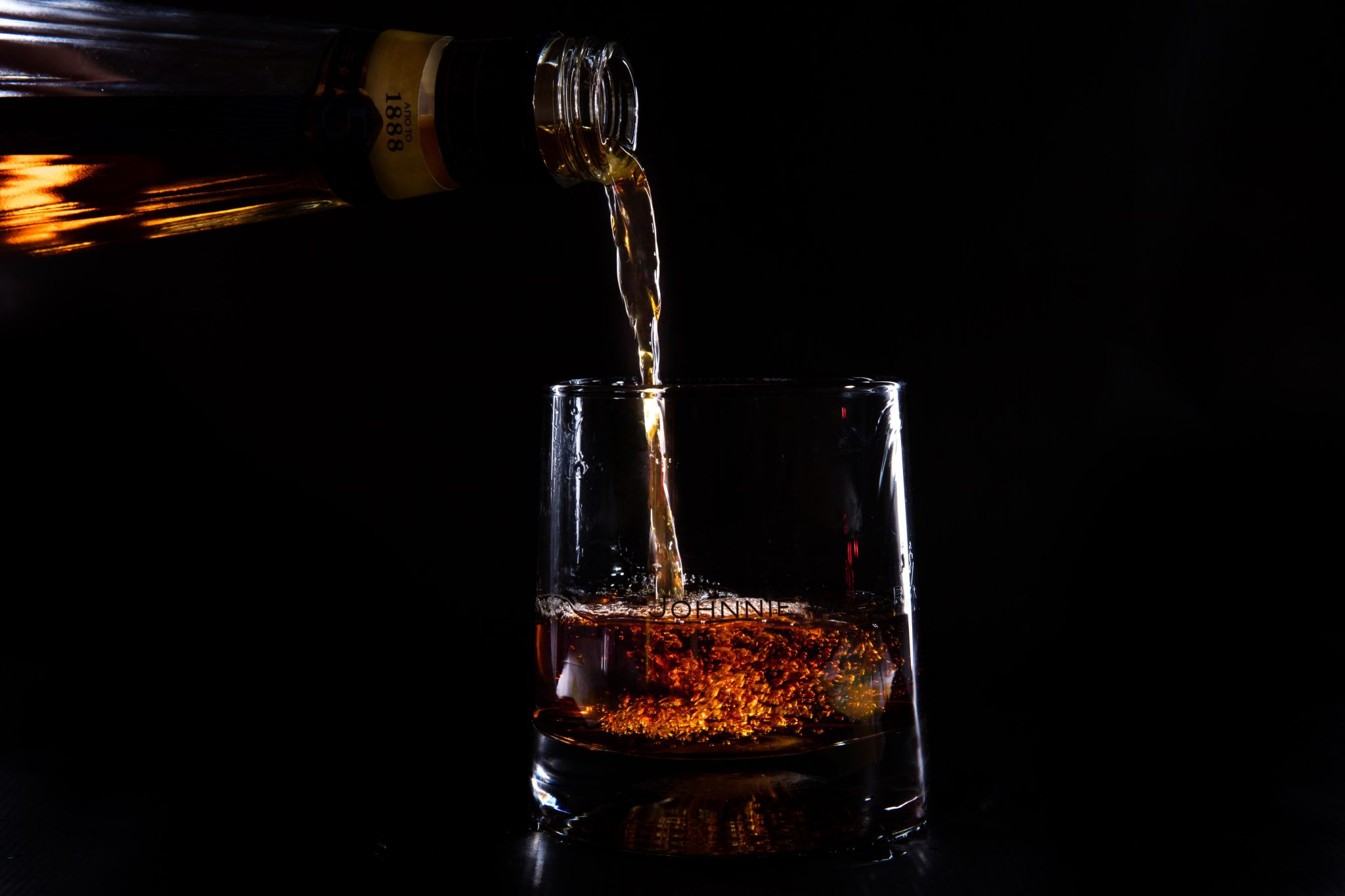 Pouring Whiskey