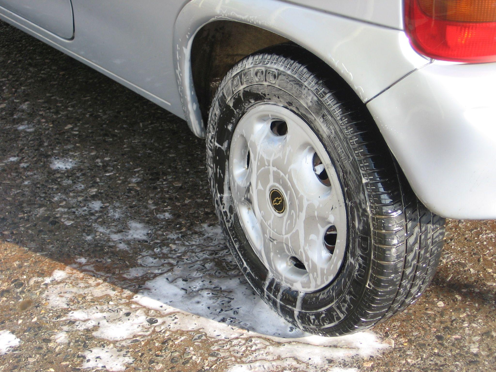 Wash Your Car In the Rain