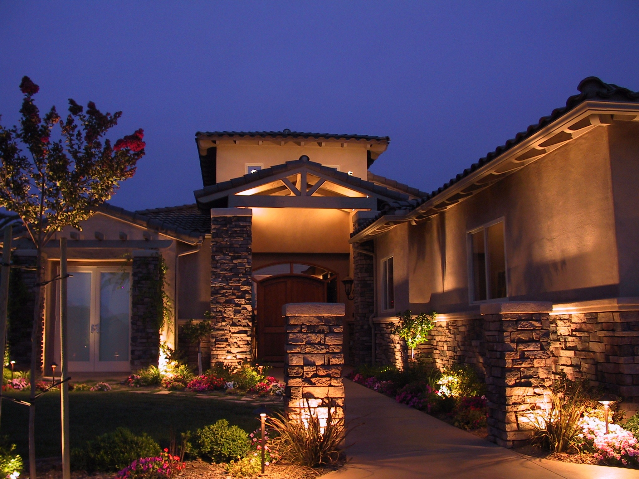 landscape lighting - Outdoor Lighting Design Ideas