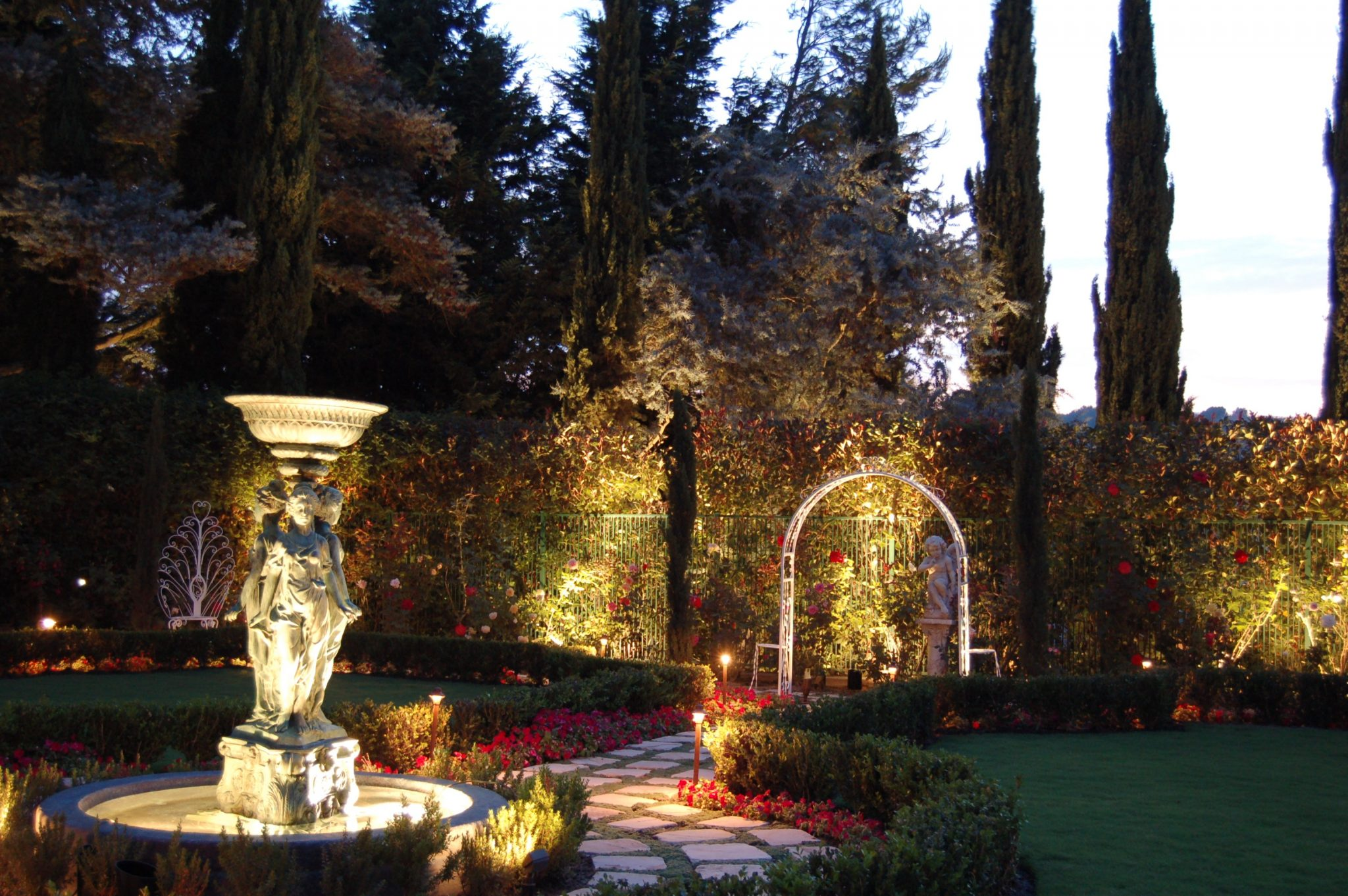 Landscape Lighting Ideas for Vegetable Gardens