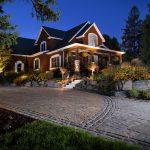 security landscape lighting