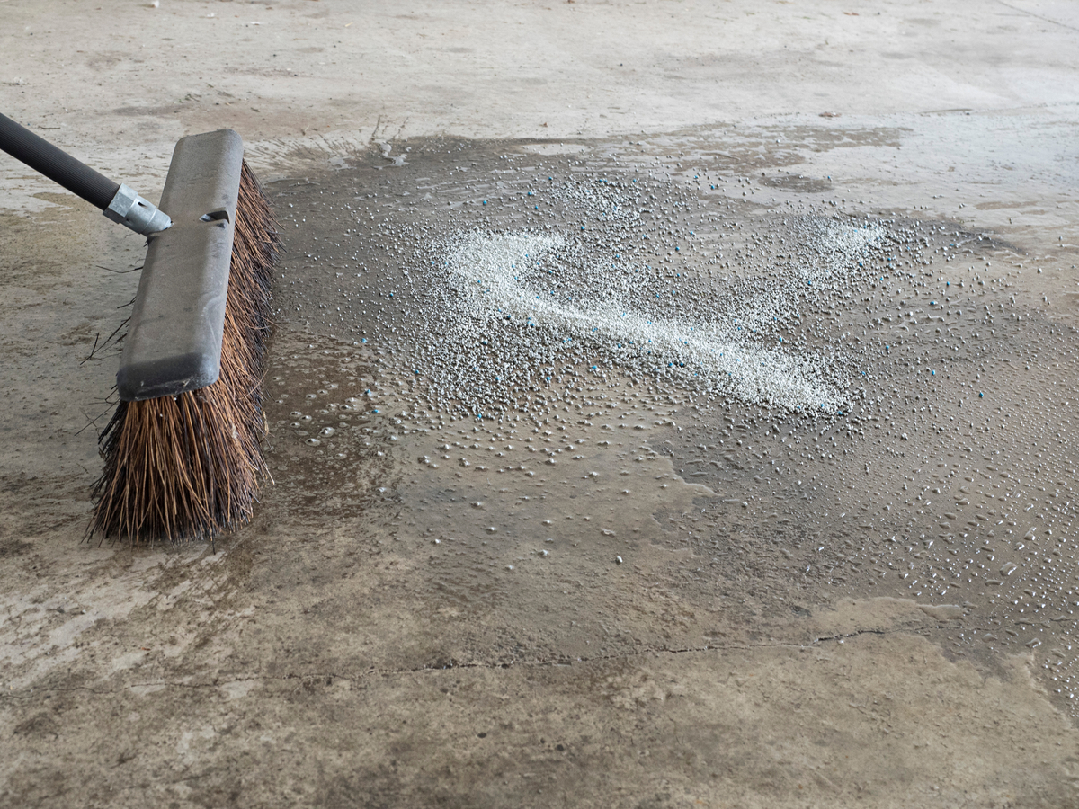 How to Remove Oil Stains from Concrete Pavers