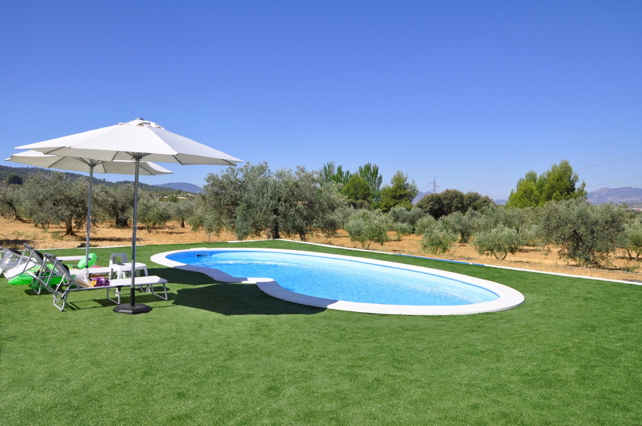 artificial grass pool areas