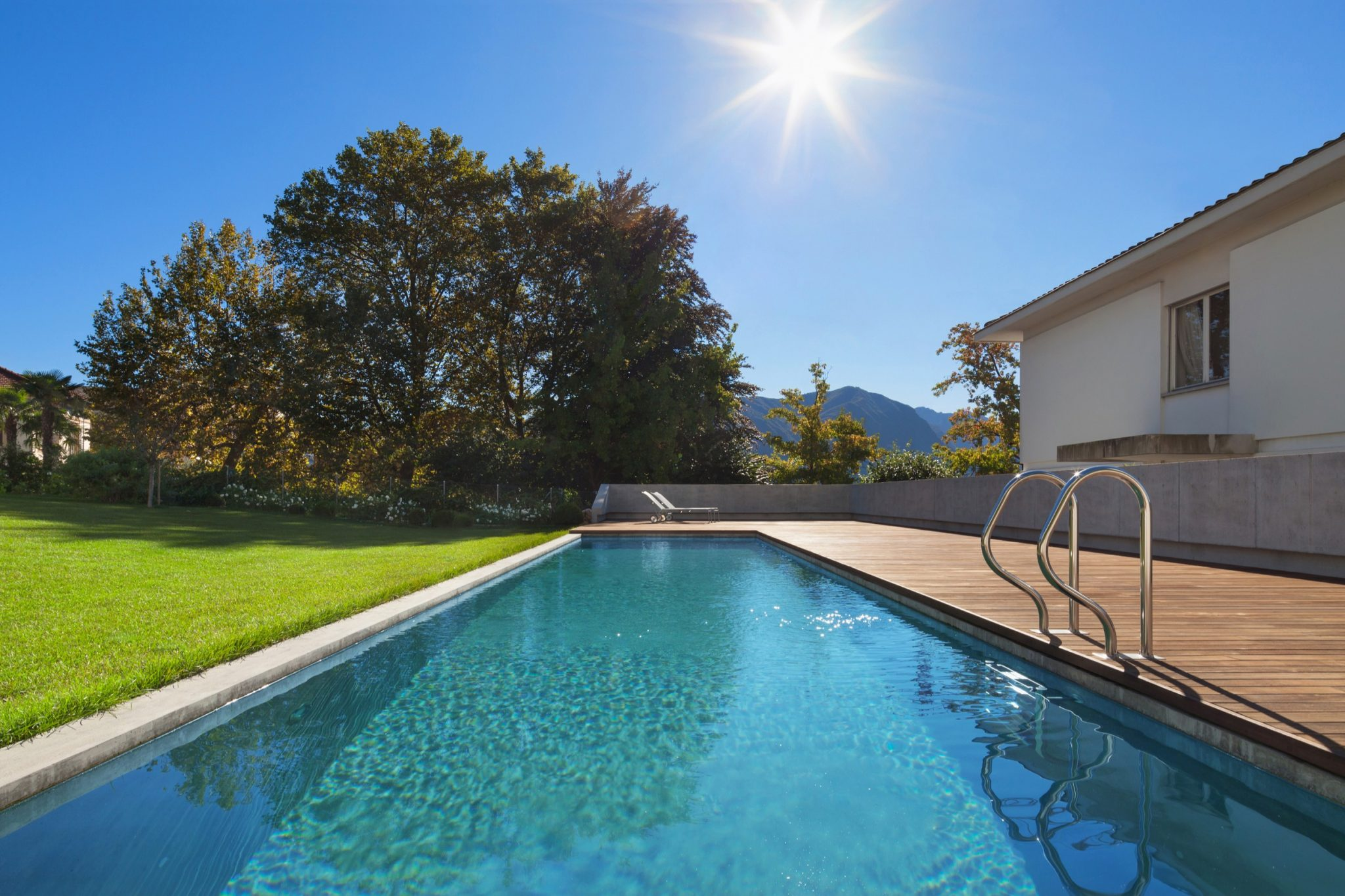 pool areas artificial grass