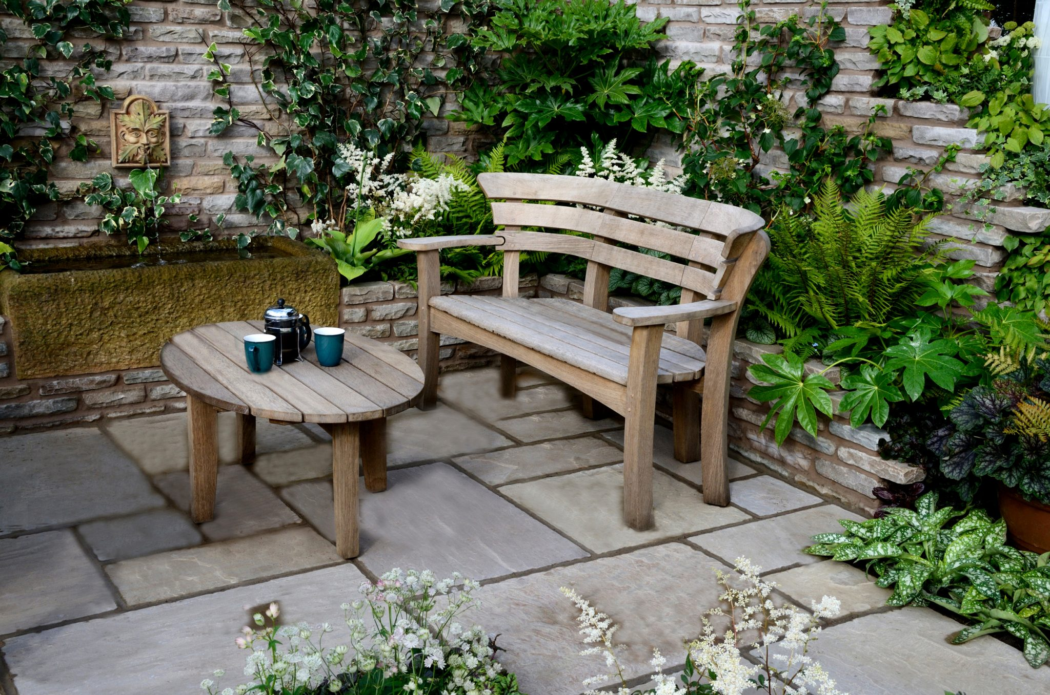 patio ideas small space