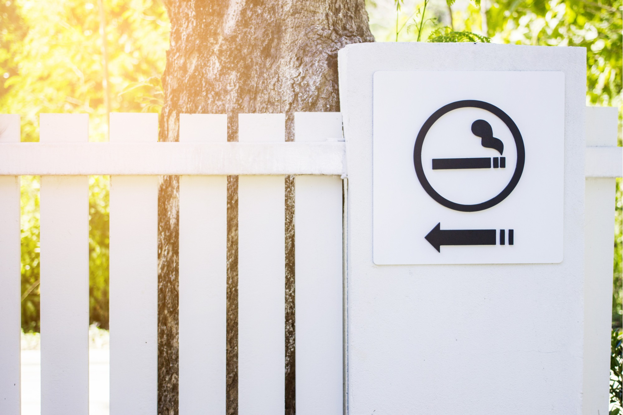 How to Create a Designated Smoking Area