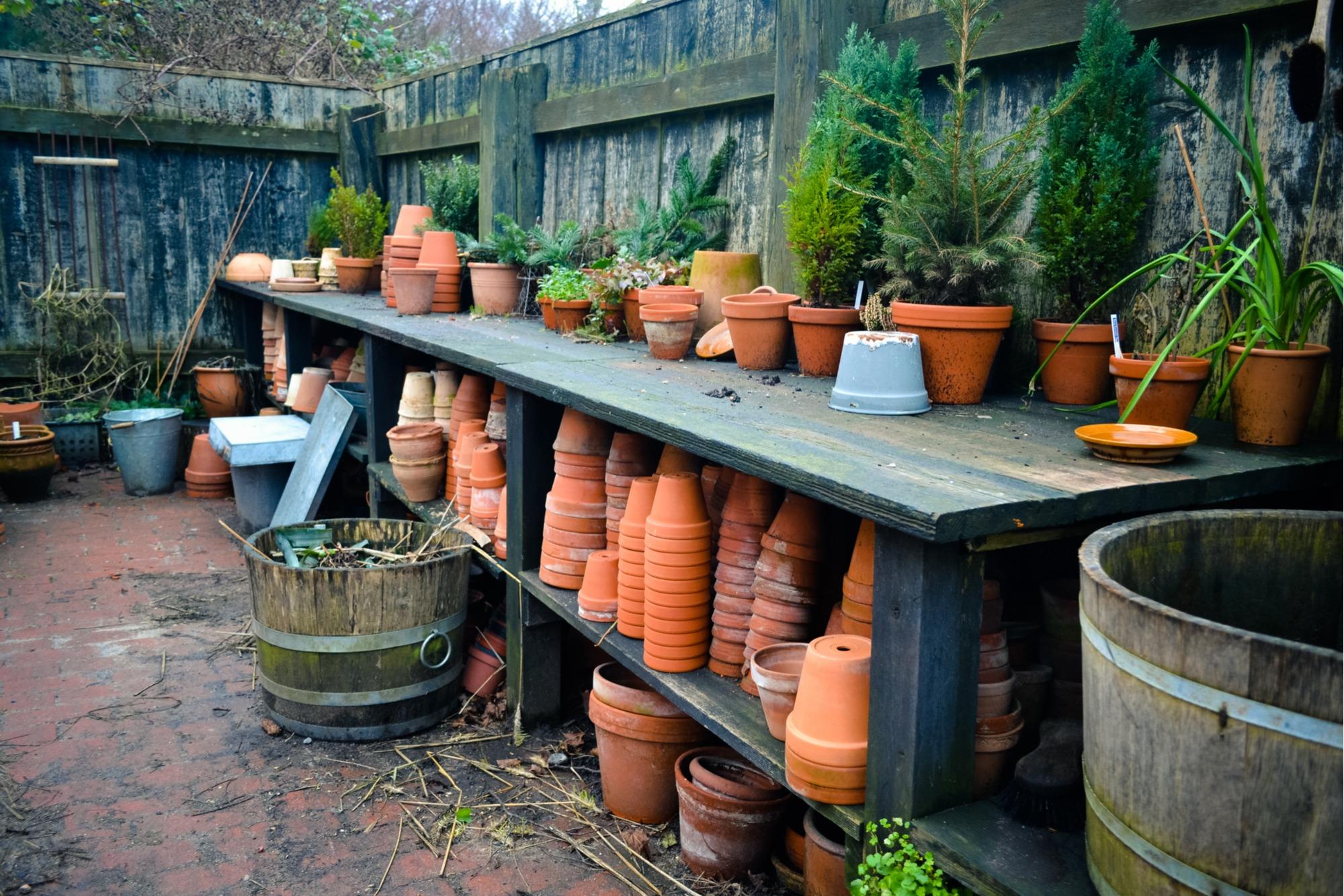 potting bench ideas