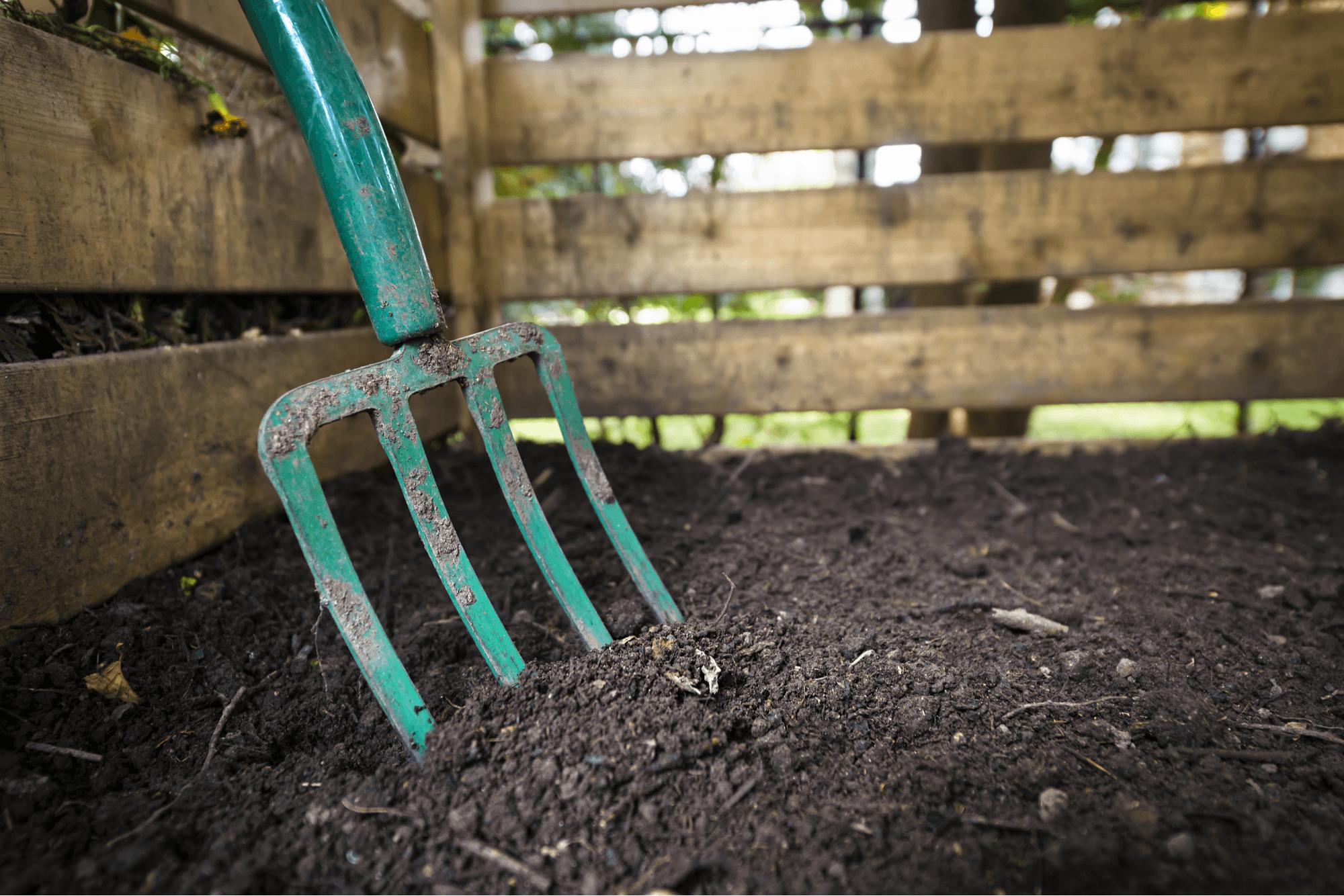 mulch or compost