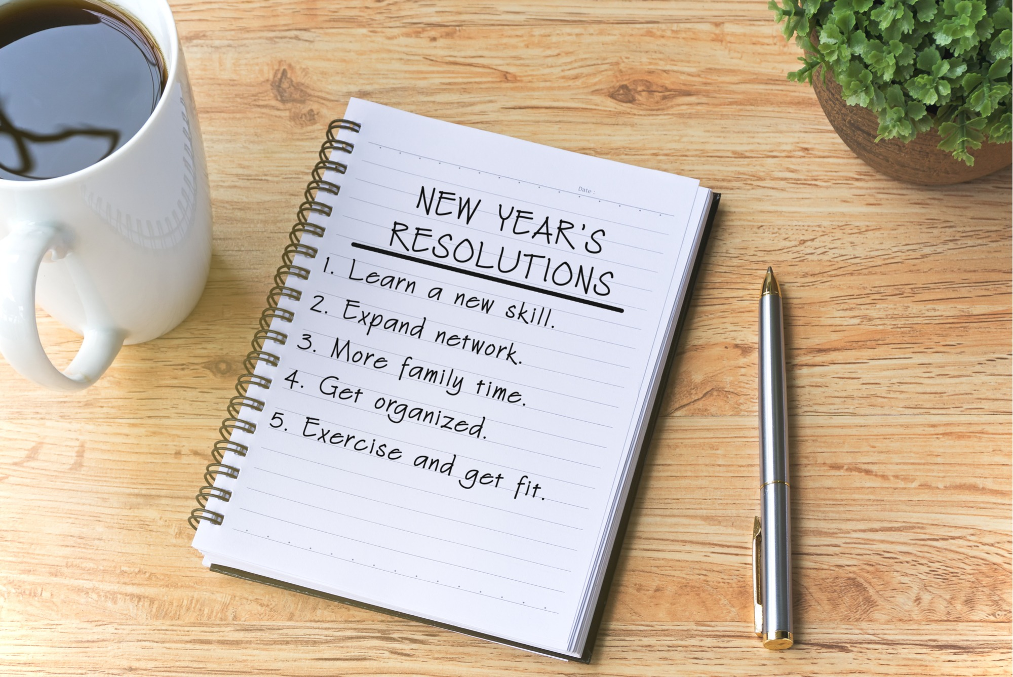 New Years Resolutions for Your Home Garden