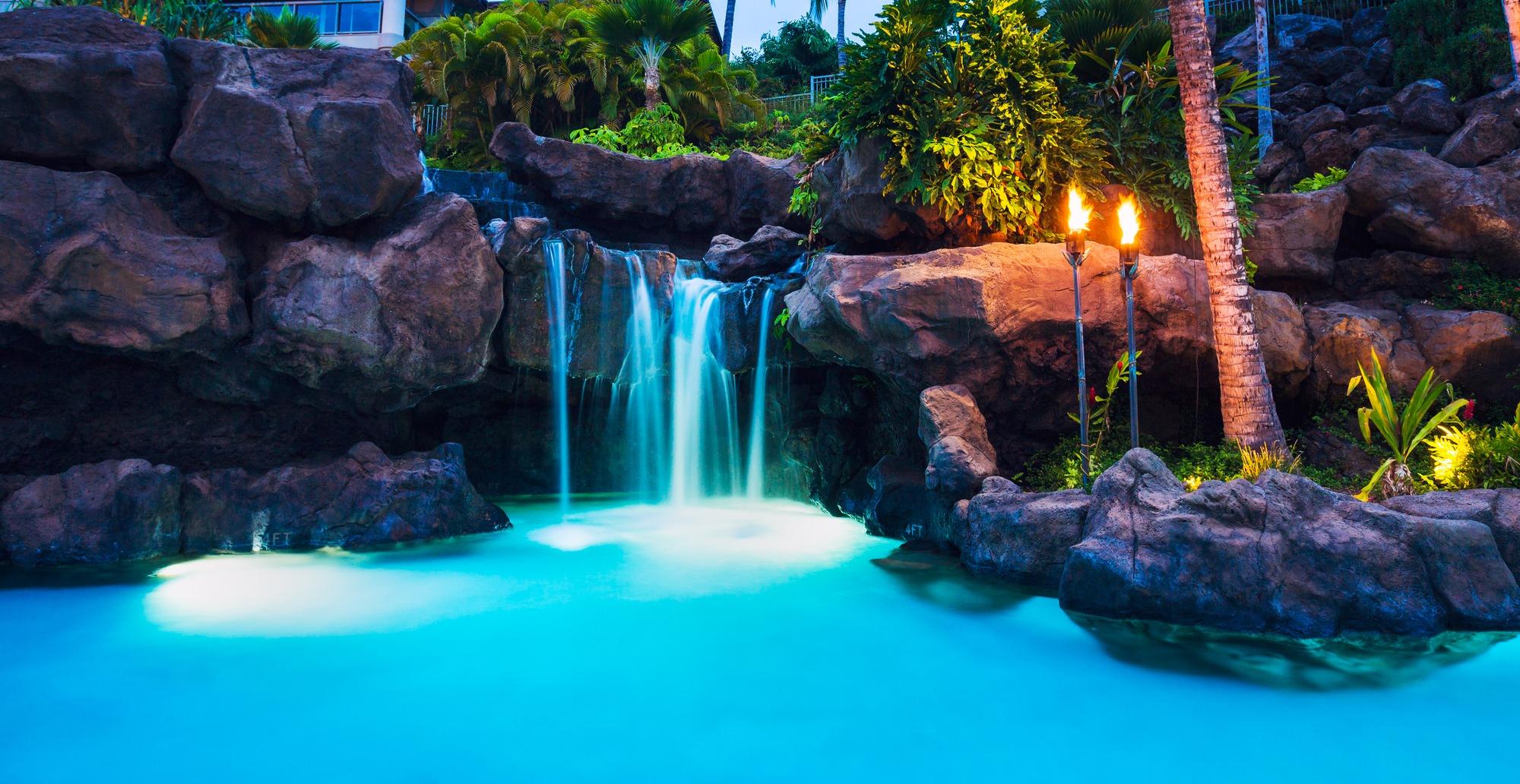 water feature lighting