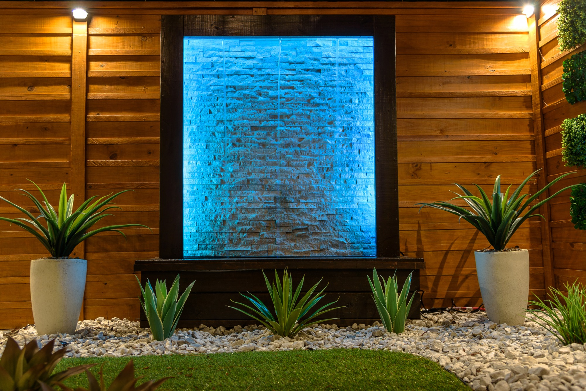water feature lights