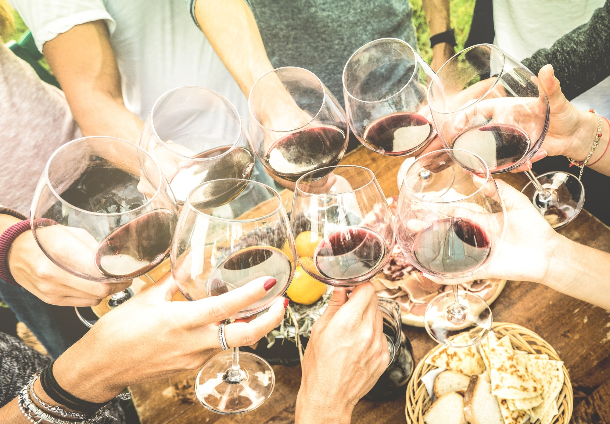 wine party games
