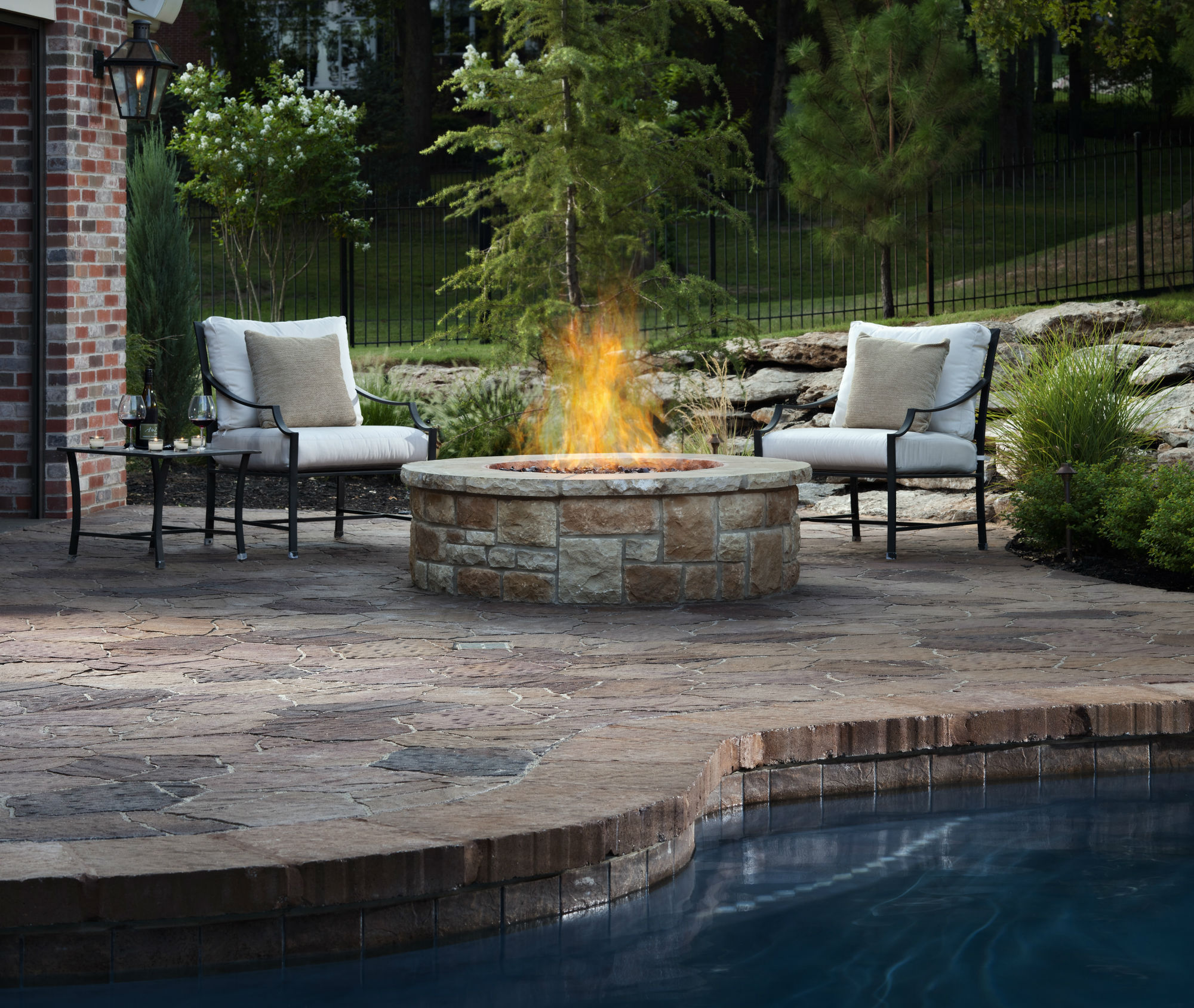 fire pit fireplace accessories ideas