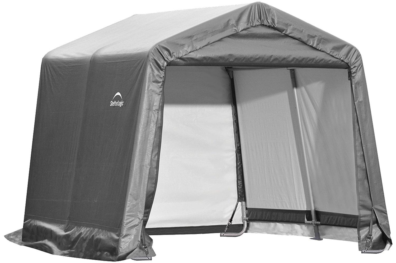 ShelterLogic Canopy Shed on Amazon