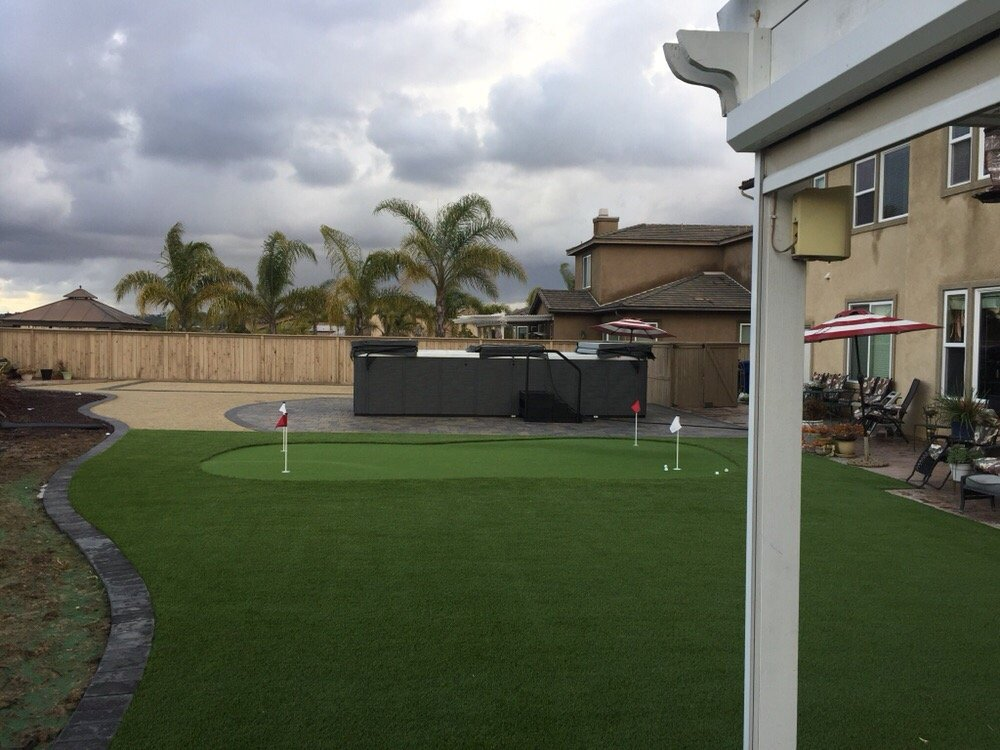 Putting Green Installation by IID