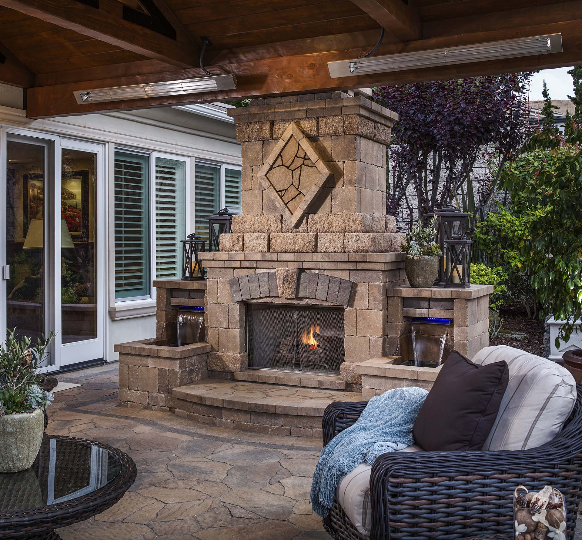 Outdoor Fireplace Projects In San Diego And Orange County