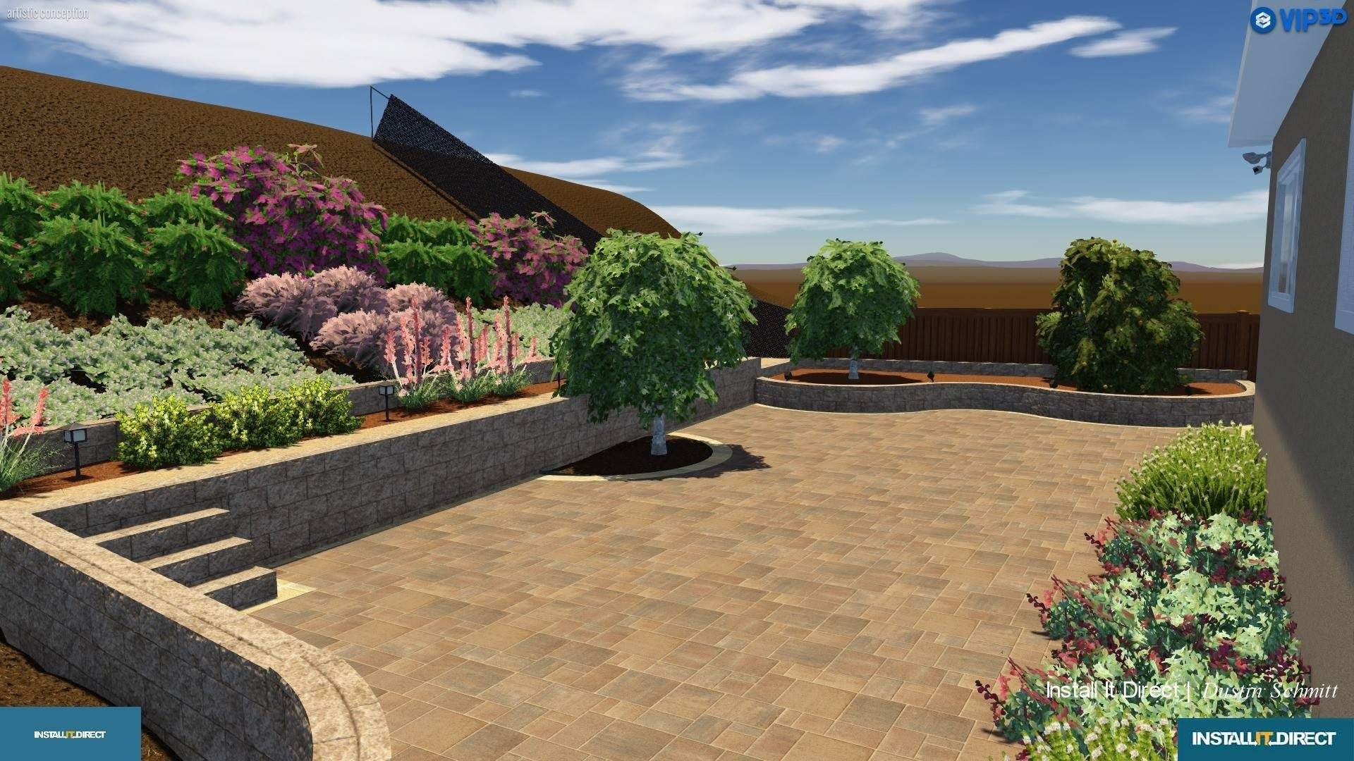 Landscape Design In Southern California Install It Direct