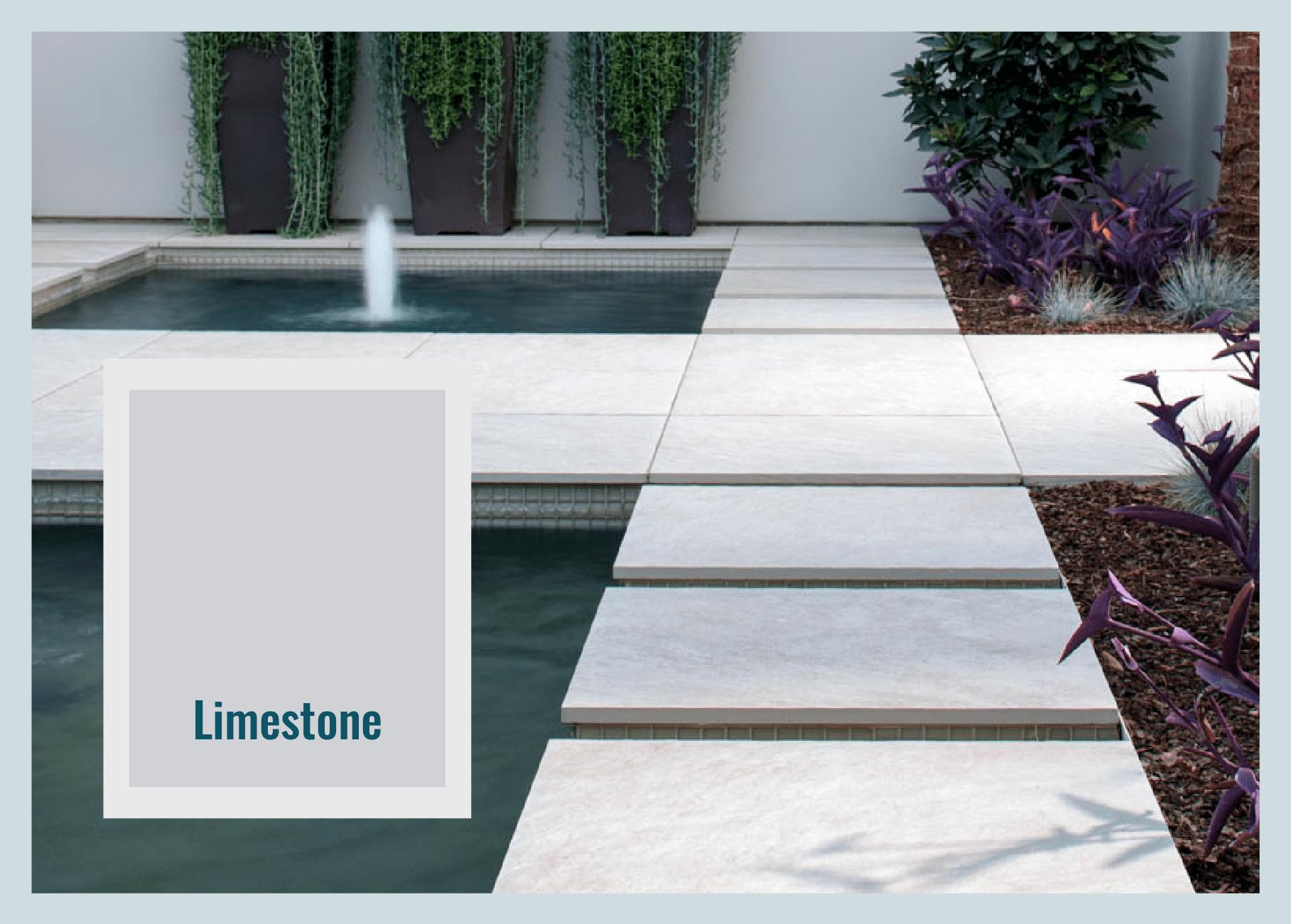 limestone paver color