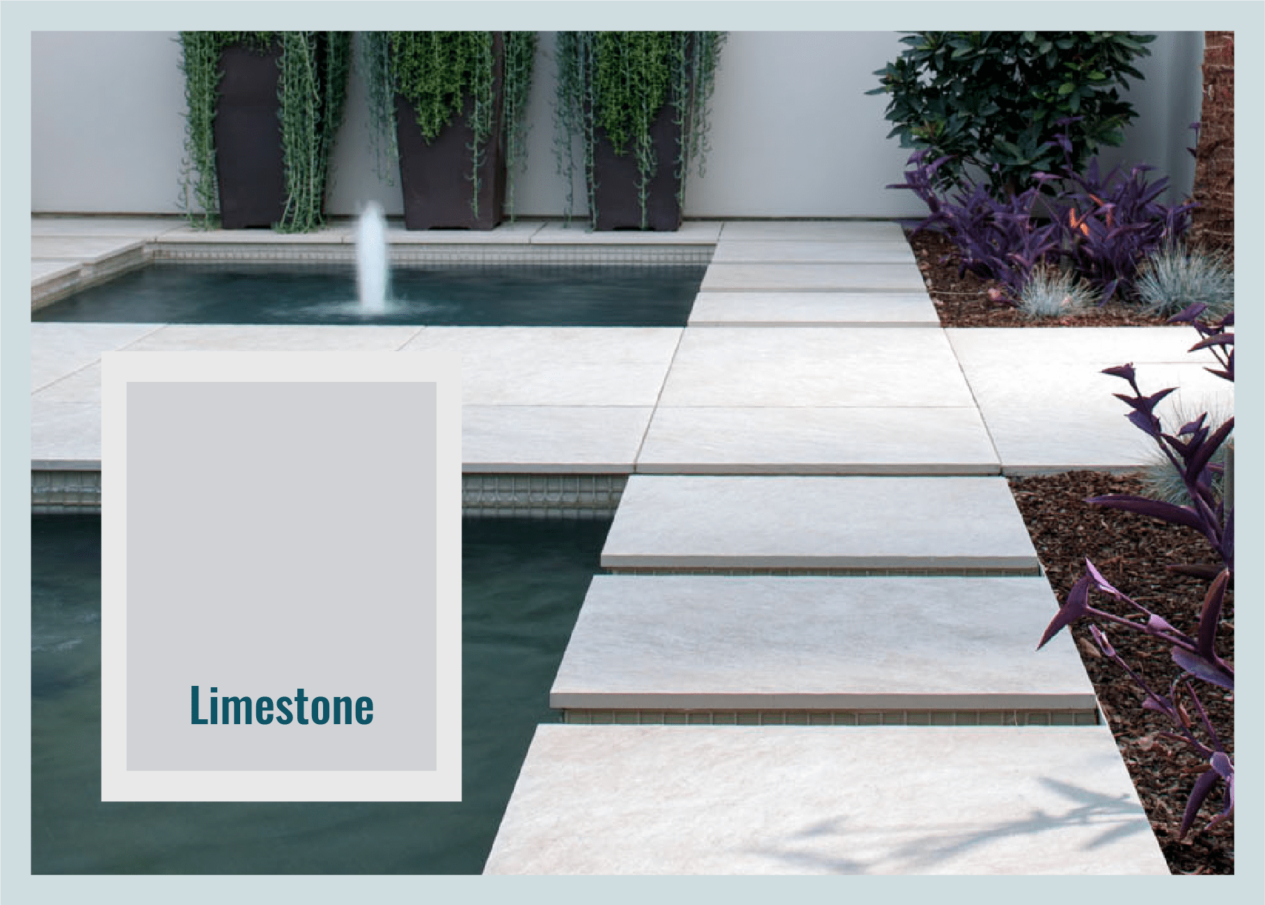 limestone paver color