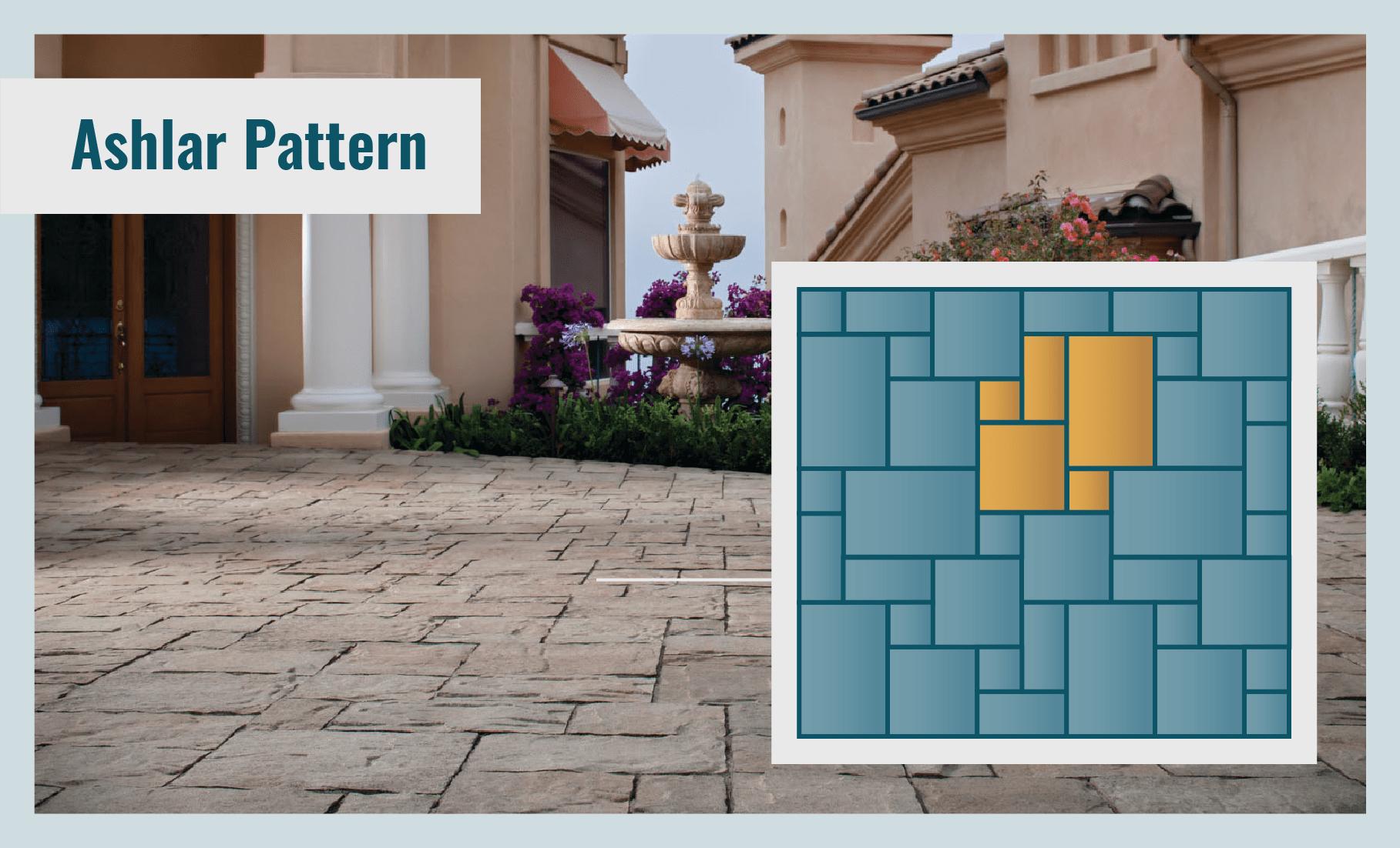 Ashlar Laying Pattern