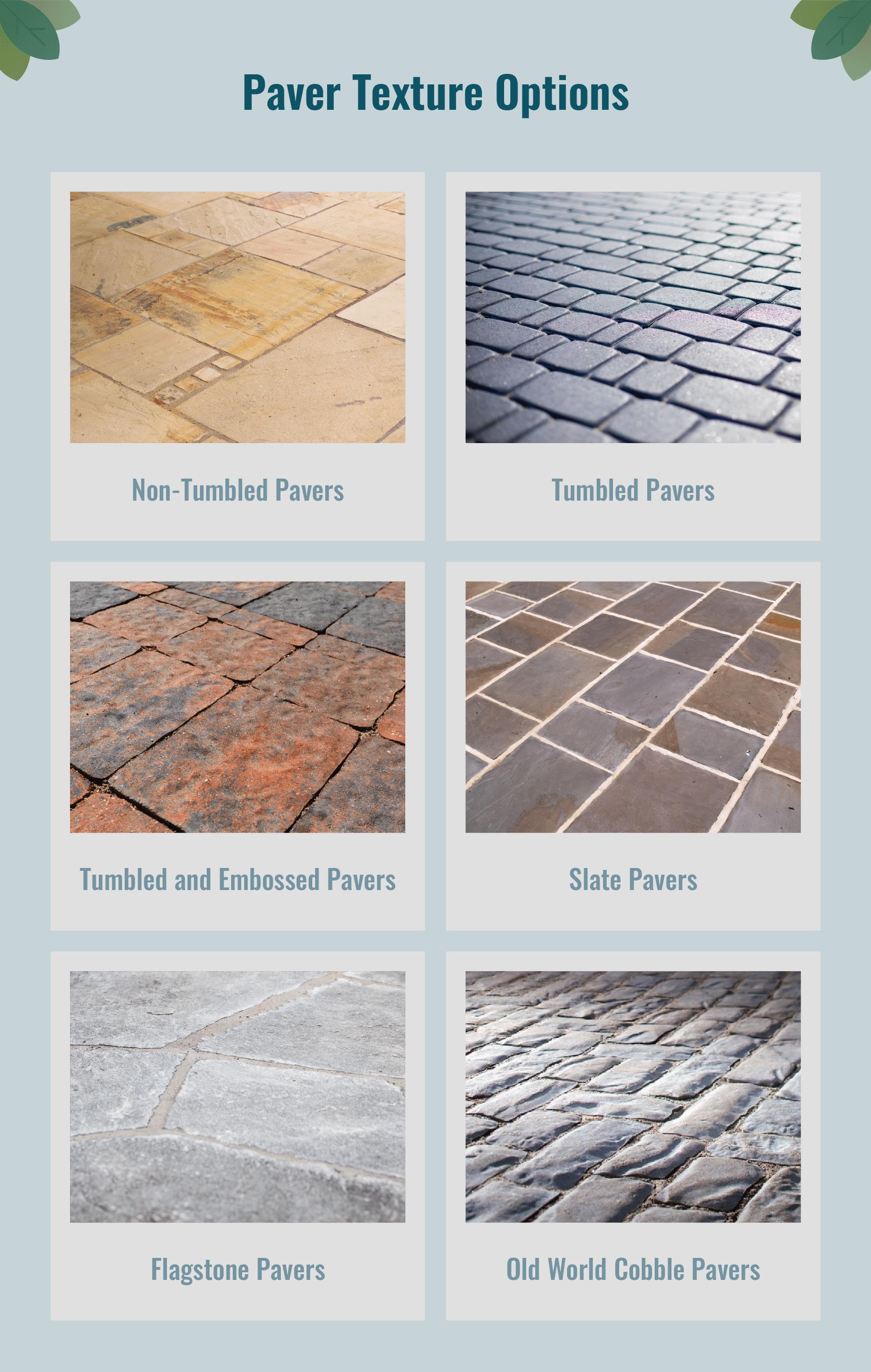 Paver Texture Options