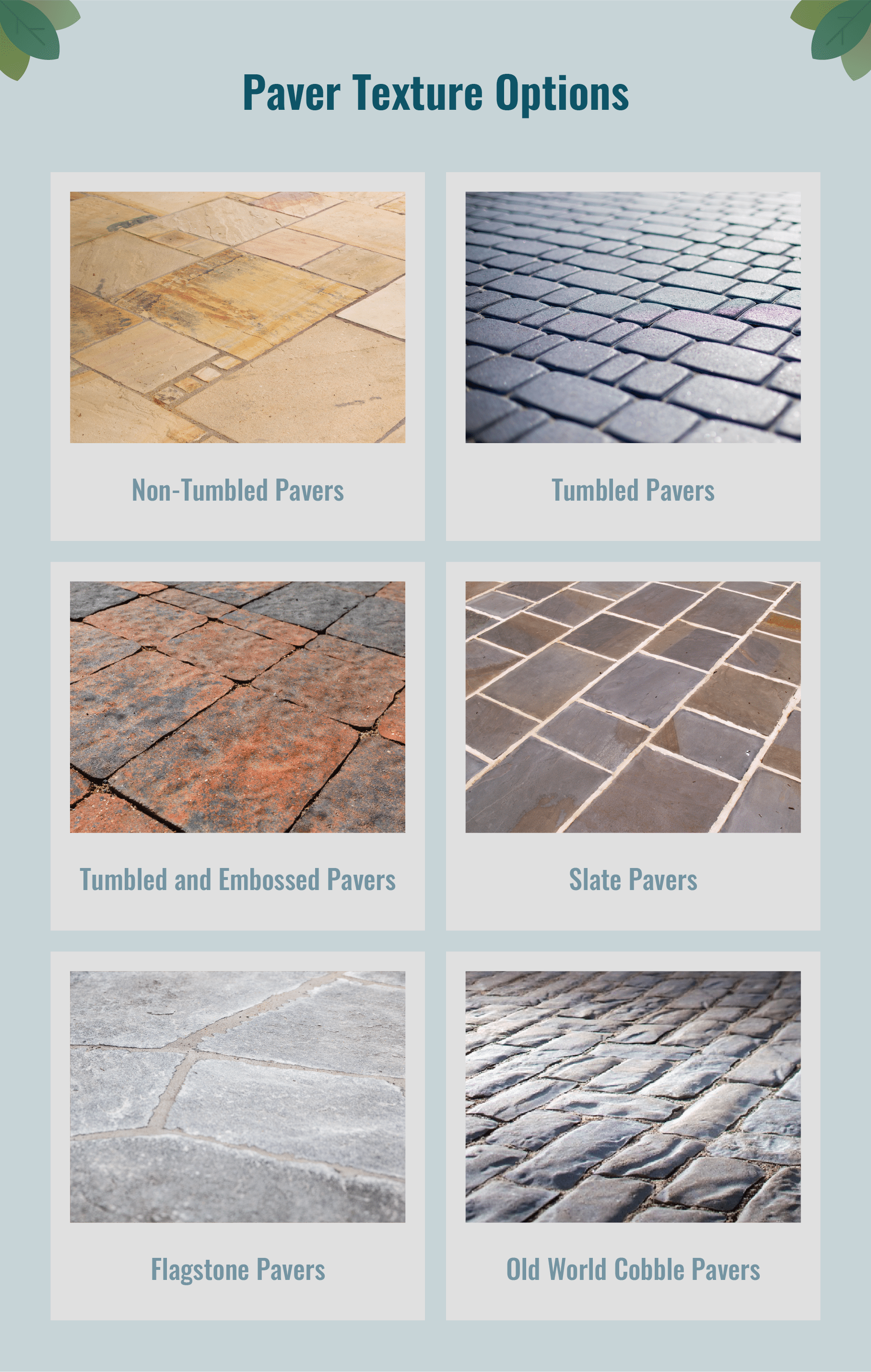 Paver Texture Options