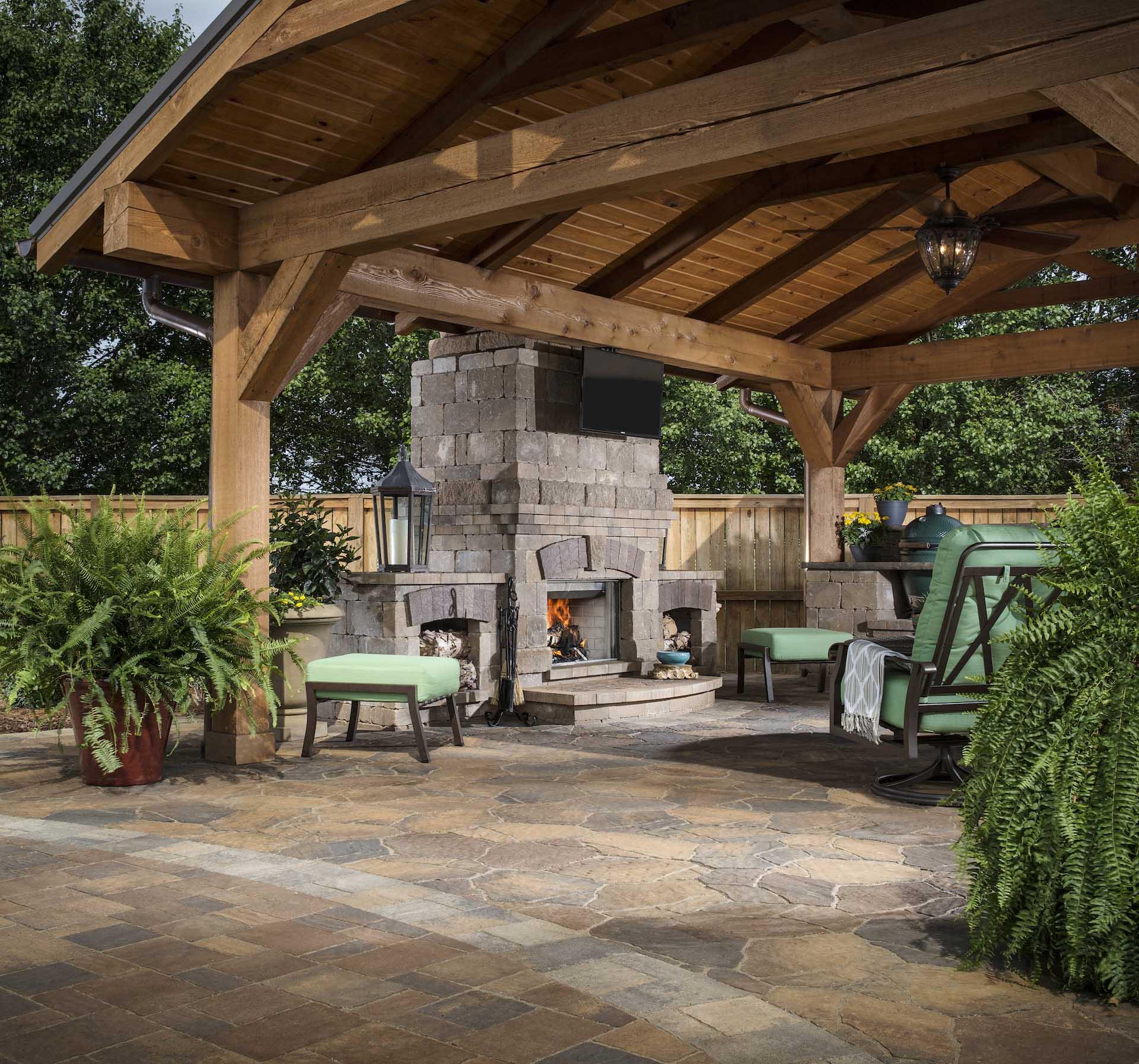 outdoor tech patio tv