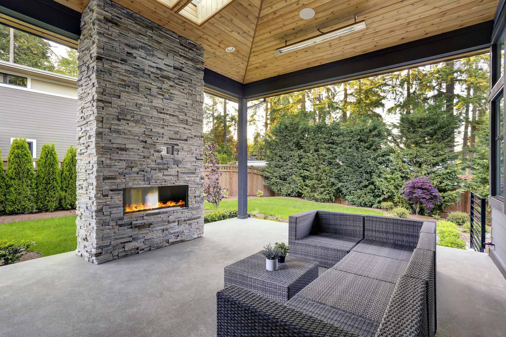 Types of Hardscapes: Concrete or Stamped Concrete